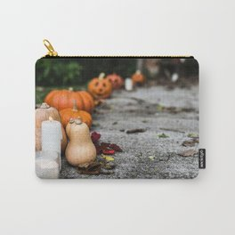 Pumpkin, Ground And Pathways, Candle Carry-All Pouch