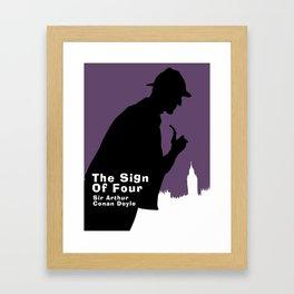 The Sign of Four -Sherlock Holmes Framed Art Print