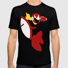 Protoman Black Mens Fitted Tee LARGE