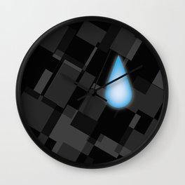 Lonely Tear Wall Clock