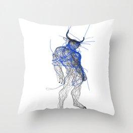 minotaure Throw Pillow