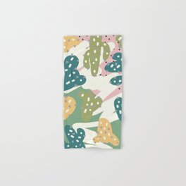 Cactus Pattern Hand & Bath Towel