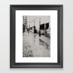 on the streets of cambridge ...  Framed Art Print