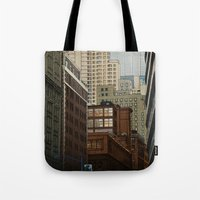 labyrinth Tote Bags featuring Labyrinth by Megs stuff...