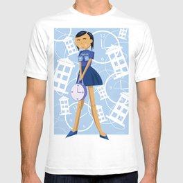 Time Traveling Girl T-shirt