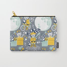 The cat who loves rainy nights Carry-All Pouch