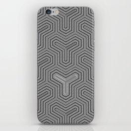 Odd one out Geometric iPhone Skin