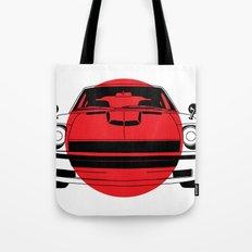 240Z - Japanese Flag Tote Bag