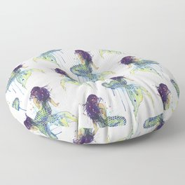 Mermaid Floor Pillow
