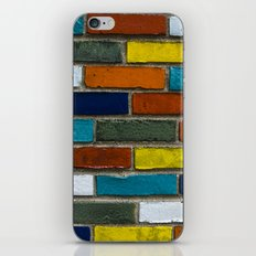 Color Wall iPhone & iPod Skin