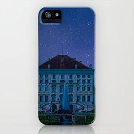 DE - BAVARIA : Nympfenburg palace Munich iPhone Case