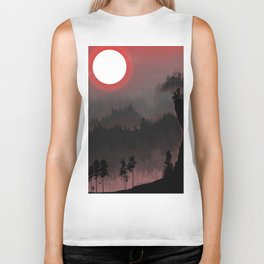 Hunters Moon/Dark Forest Biker Tank