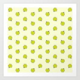 apple dots Art Print