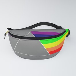 Rainbow made of light Fanny Pack