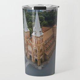 Notre-Dame Cathedral Basilica of Saigon Travel Mug
