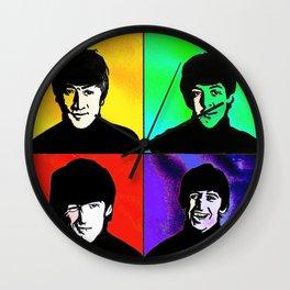 the fab 4 Wall Clock