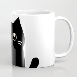 Black cat 589 Coffee Mug