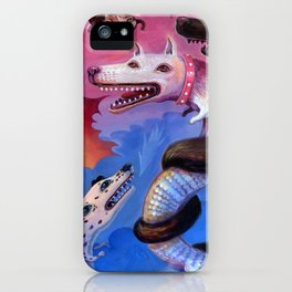 Dragon Play iPhone Case