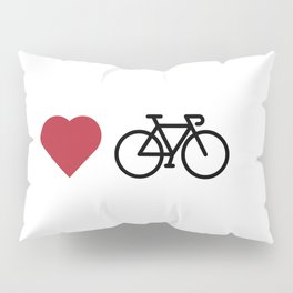 love my bike Pillow Sham