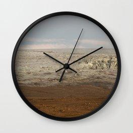 Ice meets Earth Wall Clock