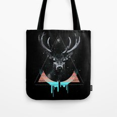 The Blue Deer Tote Bag