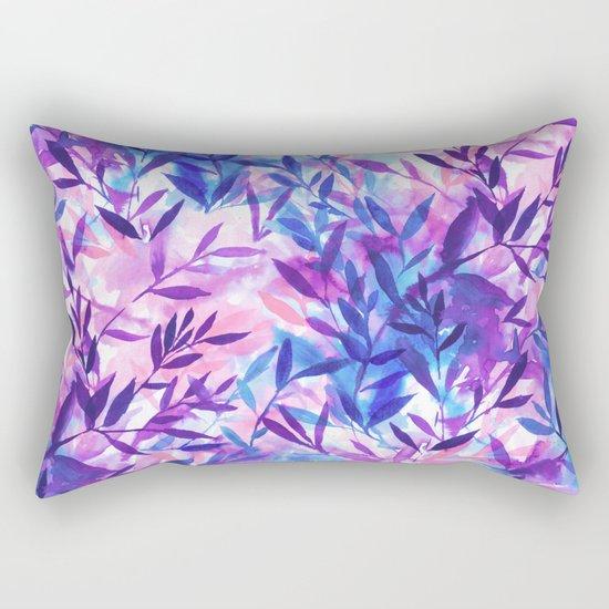 Changes Purple Rectangular Pillow