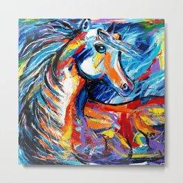Magic Horse Metal Print