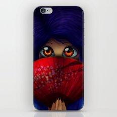 Hiding.  iPhone & iPod Skin