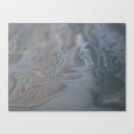 Water's Residuum Canvas Print