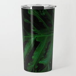 Green is the new black foliage photograhy no 3 Travel Mug