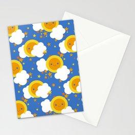 Celestial Kawaii Stationery Cards