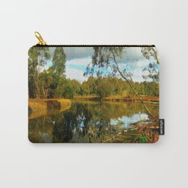 Dusk over a Swamp Carry-All Pouch