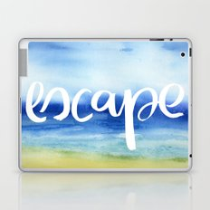 Escape - Collaboration by Jacqueline Maldonado and Galaxy Eyes Laptop & iPad Skin