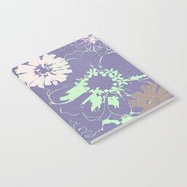 Late Summer Lavender Notebook