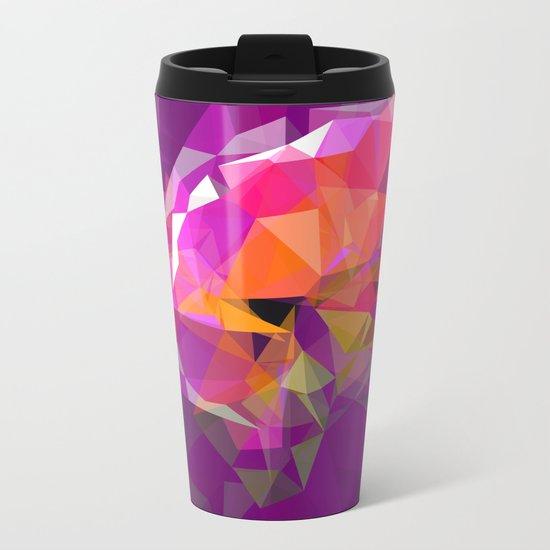 polygone attack Metal Travel Mug