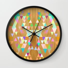 Things fall into place Wall Clock