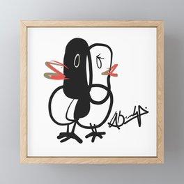 Lovebirds Framed Mini Art Print