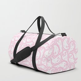 Good Lil' Ghost Gang in Pale Pink Duffle Bag