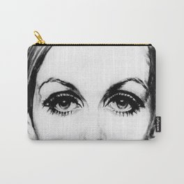 60's Eyelashes Carry-All Pouch