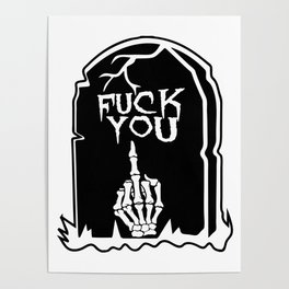 Mean Grave Poster