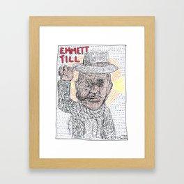 Emmett Till Framed Art Print