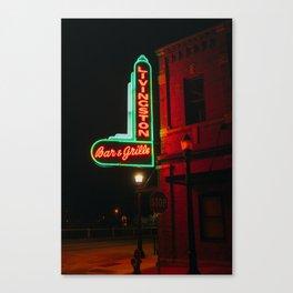 Bar & Grille - Livingston, MT Canvas Print