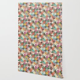 sarilmak patchwork Wallpaper