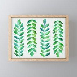 Leafy Goodness Framed Mini Art Print