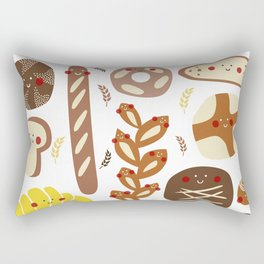 You've got great buns Rectangular Pillow