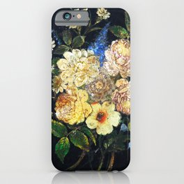 Vintage Flowers 2 iPhone Case
