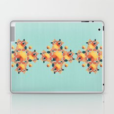 Orange Garden Pattern Laptop & iPad Skin