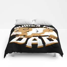Guinea Pig Dad Comforters