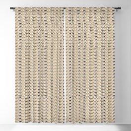 Steve Buscemi's Eyes Tiled Pattern Comic Blackout Curtain