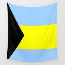 flag of Bahamas 2– Nassau,Bahamian,Bahamianese,Junkanoo,Regattas Wall Tapestry